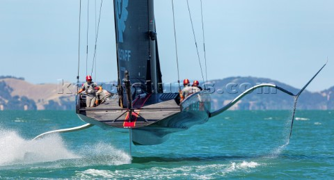 120221  Auckland NZL36th Americas Cup presented by PradaPRADA Cup 2021  Practice Races  DayIneos Tea