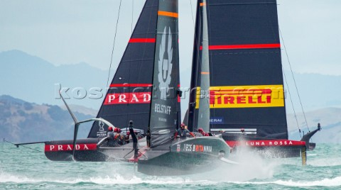 140221  Auckland NZL36th Americas Cup presented by PradaPRADA Cup 2021  Final Day 2Ineos Team UK Lun