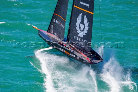 120221  Auckland NZL36th Americas Cup presented by PradaPRADA Cup 2021  Practice RacesIneos Team UK