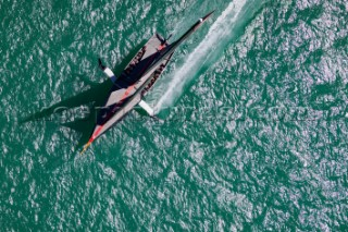 12/02/21 - Auckland (NZL)36th America's Cup presented by PradaPRADA Cup 2021 - Practice RacesIneos Team UK