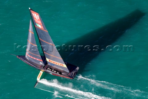 130221  Auckland NZL36th Americas Cup presented by PradaPRADA Cup 2021  Final Day 1Luna Rossa Prada