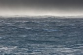 Rough seas in the South of France