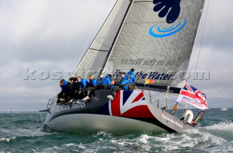 COWES ENGLAND  JUNE 30 Armed Forces Day Solo round the world sailor Dee Caffari MBE appointed a Hono