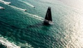 MARSEILLE,FRANCE, SEPTEMBER 29TH 2012 : Spindrift racing (MOD70) skippered by Yann Guichard from France, during the Marseille City Races of the MOD70 European Tour.