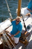 Classic Sparkman & Stephens, S&S 53 foot Yawl Skylark at the Voiles de Saint Tropez 2012