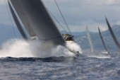 Savannah leads J-Class in the Superyacht Cup in Palma